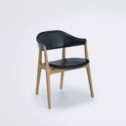 Spän Dining Chair | Oak / Black