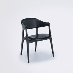 Spän Dining Chair | Frêne / Noir