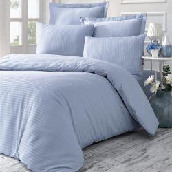 Bettwäscheset  Line | Blau