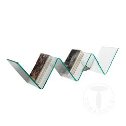 Wall Shelf Zig Zag | Glass