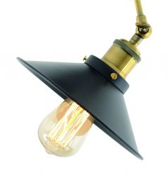 Wall Lamp Cottage | Black