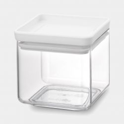 Voorraadbus Vierkant 0,7 L | Lichtgrijs