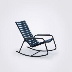 CLIPS Chaise à Bascule Extérieure | Bleu Foncé