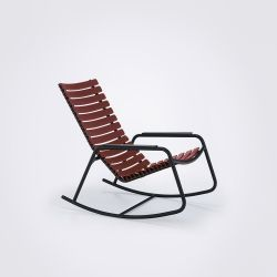 CLIPS Outdoor Rocking Chair | Paprika