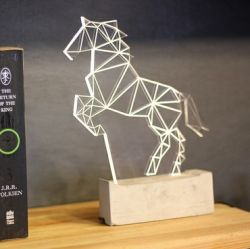 Lampe de Table Cheval