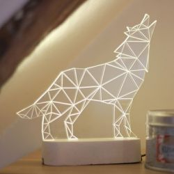 Lampe de Table Loup
