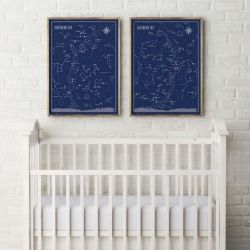 Poster Little & Big Astronomer | Set of 2
