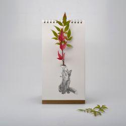 Papiervase | Vase Wild