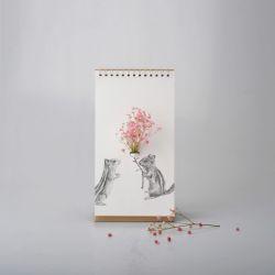 Papiervase | Begleiter