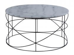 Table d'Appoint Wire | Blanc