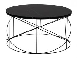 Table d'Appoint Wire | Noir