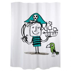 Shower Curtain | Pirate