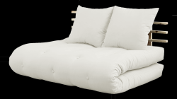 Sofabed Shin Sano | Naturel Frame | Naturel