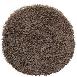 Round Bath Mat | Brown