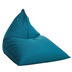Fauteuil-Sac Triangle + Recharge | Turquoise