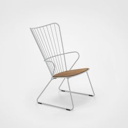 Outdoor Lounge Chair Paon | Taupe