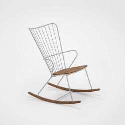 Outdoor Rocking Chair Paon | Taupe
