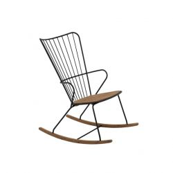 Outdoor Rocking Chair Paon | Black