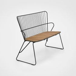 Outdoor Bench Paon | Black