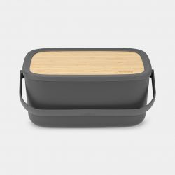 Bread Bin Nic | Dark Grey