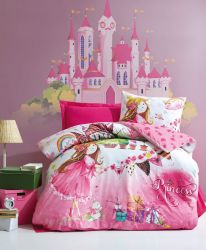 Bettbezugsset Princess Pink