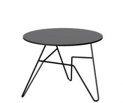 Twist Round Table Black | Small