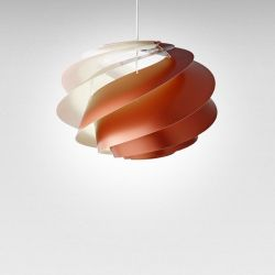 Pendant Lamp Swirl 1 | Copper