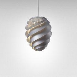 Pendant Lamp Swirl 2 | Silver