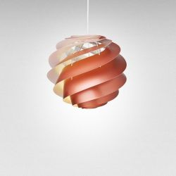 Pendant Lamp Swirl 3 | Copper