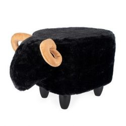 Stool Le Mouton | Black