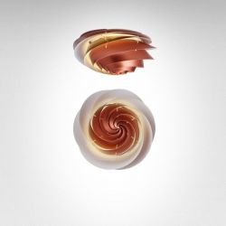 Swirl Ceiling/ Wall Lamp | Copper