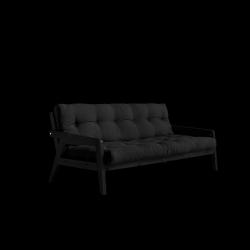 Sofabed-Greifer | Schwarzer Rahmen + dunkelgraue Matratze