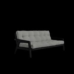 Sofabed-Greifer | Schwarzer Rahmen + graue Matratze