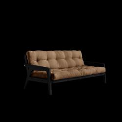 Sofabed-Greifer | Schwarzer Rahmen + Mocca-Matratze
