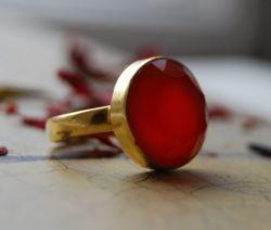 Oranje Carneool Ring