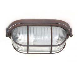 Ceiling - Wall Lamp 1-L. Lisanne | Rust Brown