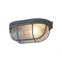 Ceiling - Wall Lamp 1-L. Lisanne 21x8 cm | Beton Look Grey
