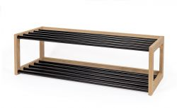 Shoe Rack Slussen | Black