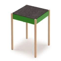 B1W/FG La Table Tabouret Empilable | Vert RAL 6018