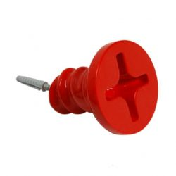 Hanger | Twisted Screw Red