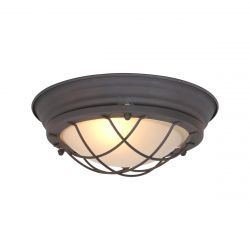 Ceiling - Wall Lamp 1.L Lisanne | Rust Brown