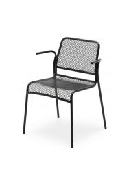 Outdoor Armchair Mira | Dark Grey