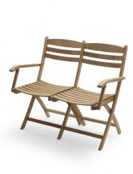 Outdoor Armchair 2-Seater Selandia