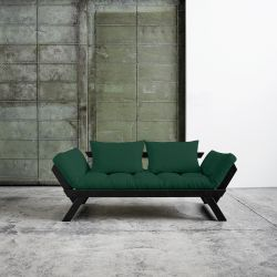 Sofa / Bed Bebop | Black Frame | Green