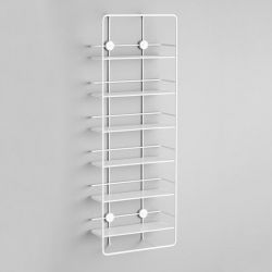 Vertical Shelf Coupé | White