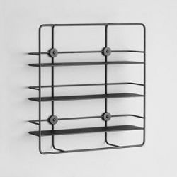 Rectangular Shelf Coupé | Black