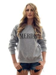 Merde Sweater | Grey