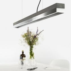 Pendant Lamp [C1] Dark Stainless Steel