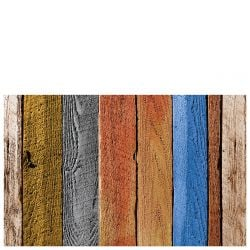 Vinyl Mat Colour Wood Planks