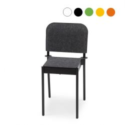 La Table Stackable Chair C1T/k/FG